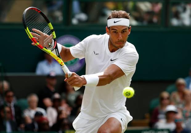 Rafael Nadal. Photo / AP