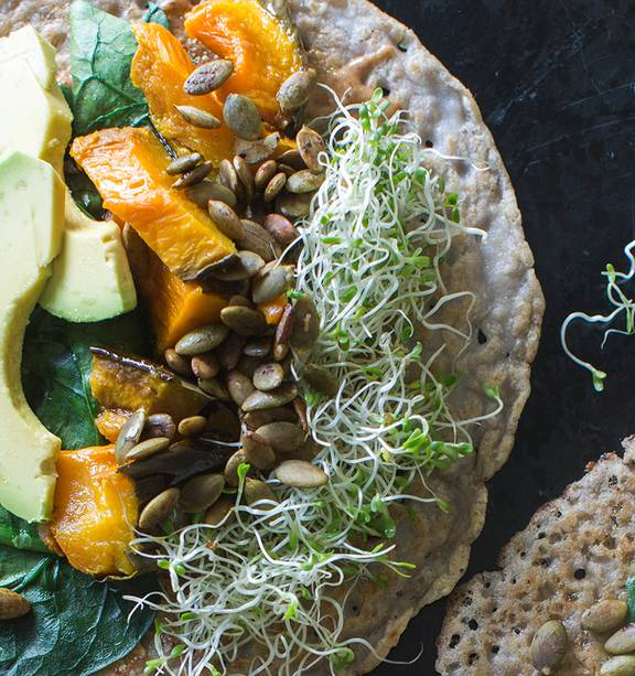 Savoury Buckwheat Crepes Nz Herald