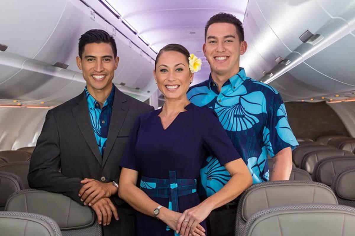 """Resultado de imagen para passenger cabin crew Hawaiian Airlines"""""""