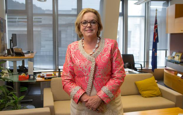 Judith Collins is unlikely to roll Bridges as she doesn't have the party support. Photo / Mark Mitchell