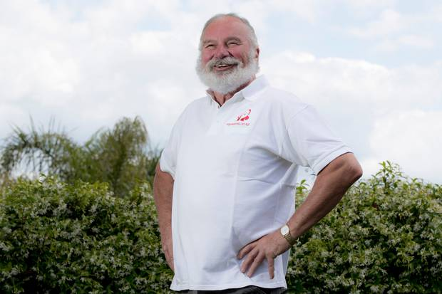 Neville Baker has been the Farmers Santa Parade Santa for the past four years. He runs My Santa, a recruitment company that specialises in training and placing professional Santas. Photo / File