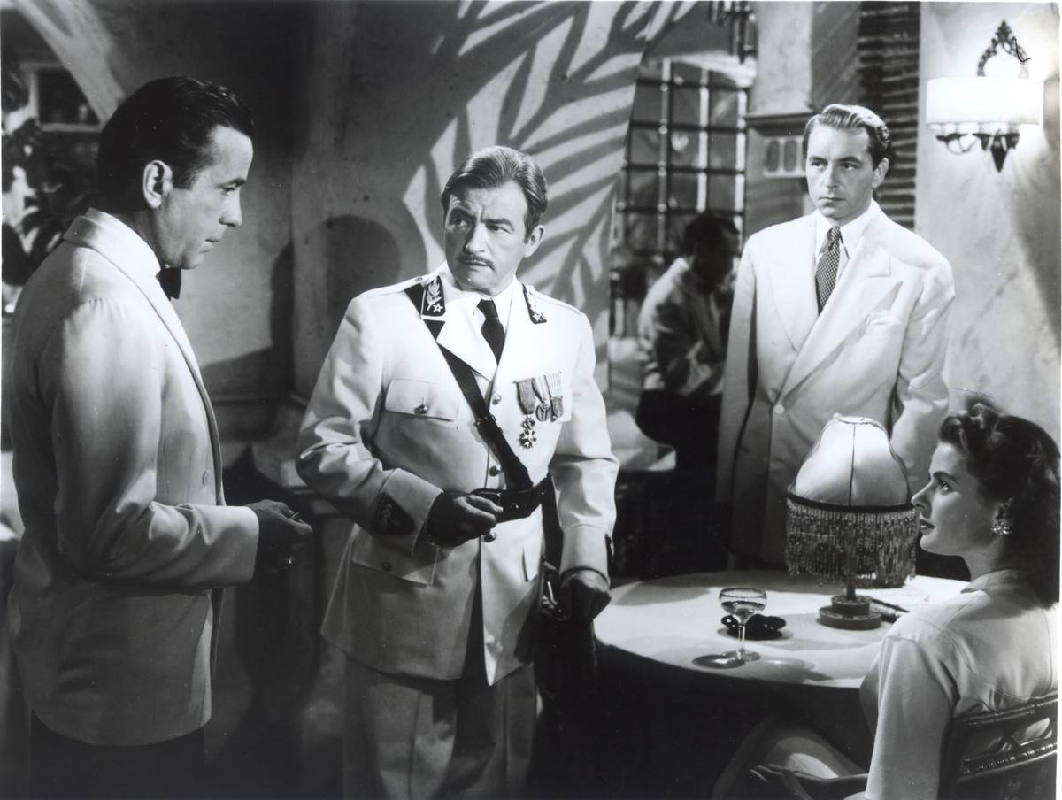 casablanca propaganda The classic and much-loved romantic melodrama casablanca (1942), always found on top-ten lists of films, is a masterful tale of two men vying for the same woman's.