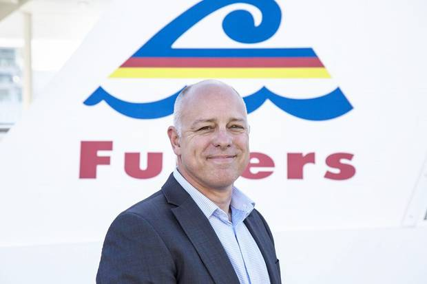 Fullers CEO Mike Horne apologised to Devonport customers for a series of cancellations this week. Photo / Supplied