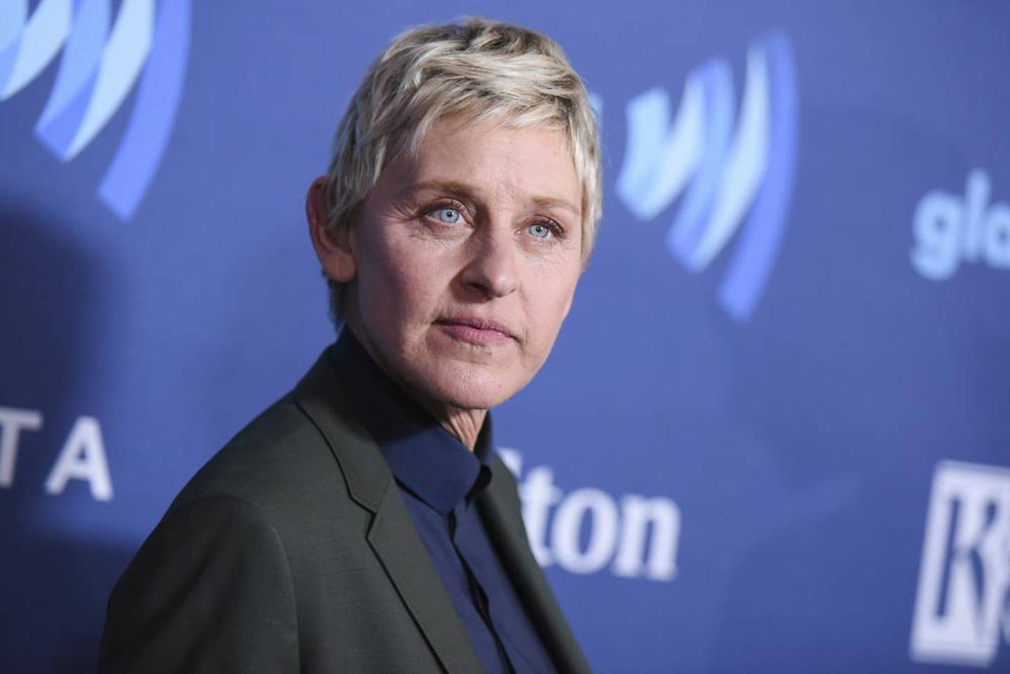 Ellen DeGeneres arrives at the 26th Annual GLAAD Media Awards in Beverly Hills. Photo / AP