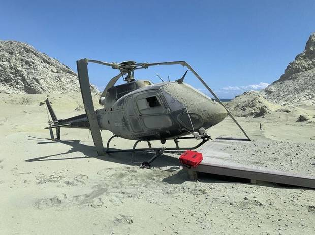 A Volcanic Air Safari helicopter. Photo / File