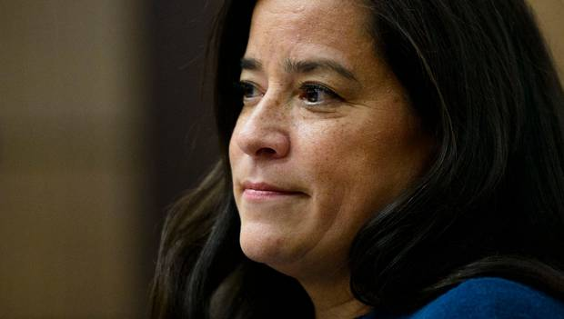 Jody Wilson-Raybould appears at the House of Commons Justice Committee on Parliament Hill in Ottawa. Photo / AP
