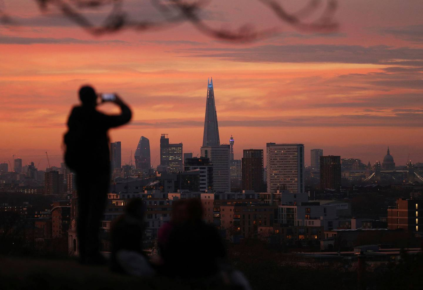 Cases have spread rapidly and London has gone into a Tier 3 lockdown. Photo / AP