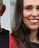 TOP leader Gareth Morgan has attacked Labour leader Jacinda Ardern, saying she needs to show she is more than lipstick on a pig. Photo / Getty Images