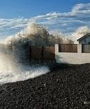 Increased storm surges are expected as the effects of climate change set in. Photo / File