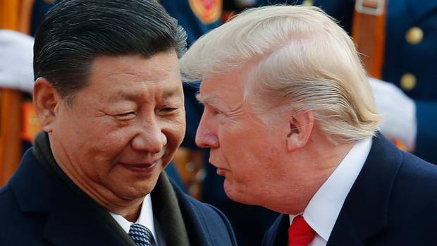 Image result for The President of the United States expressed confidence that the right trade agreement between his country and China will be settled