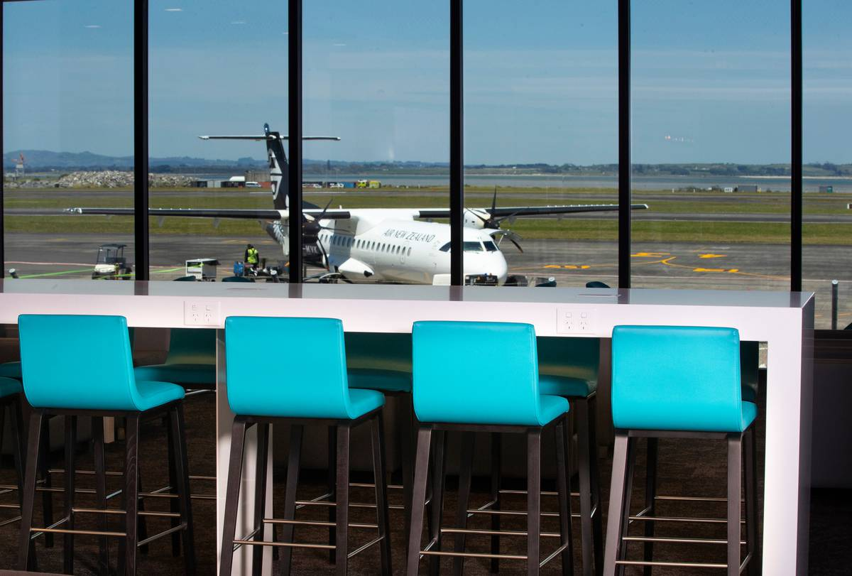 Inside Air New Zealand's newest lounge at Auckland Airport