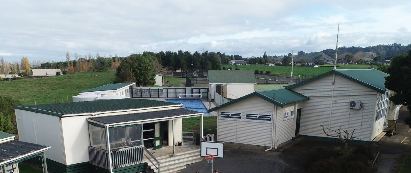 Two positive cases attend Mangatangi School on the Hauraki Plains and at least one was symptomatic at school last week. Photo / Supplied