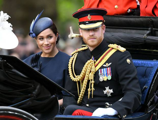 Prince Harry, Duke of Sussex and Meghan, Duchess of Sussex . This was the first event Meghan attended since giving birth to their son Archie. Photo / Getty Images