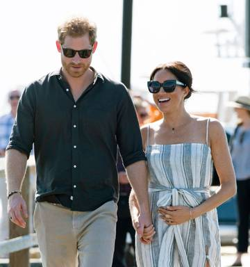 27d8d5ae3c7 The Duke and Duchess of Sussex visit Kingfisher Bay Resort in Fraser  Island