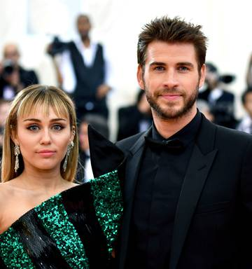Couple's shock split: Miley's public display of affection without