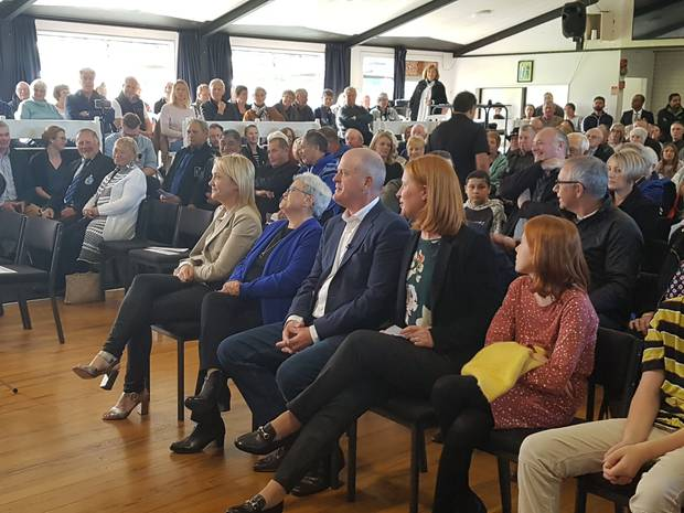 National Party leader Todd Muller gives first speech at home since ...