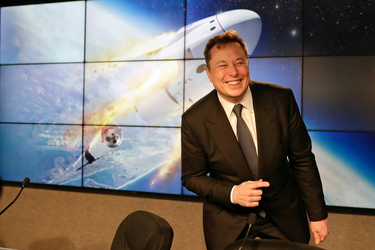 Elon Musk went from sleeping in the factory to being on the cusp of launching a crew into space