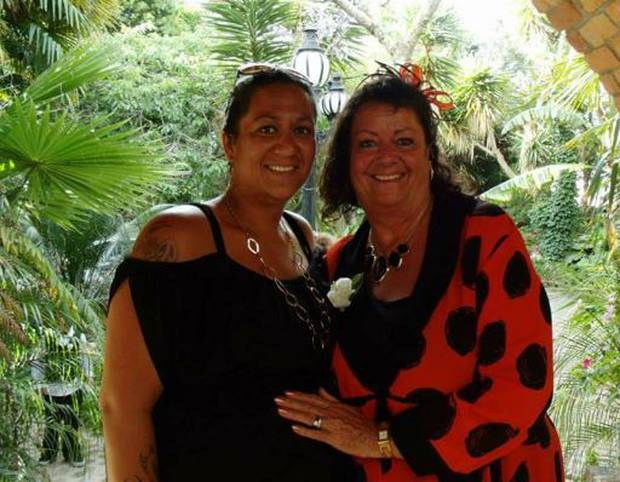 Wendy Campbell (right) and her daughter Natanya. Photo / Supplied