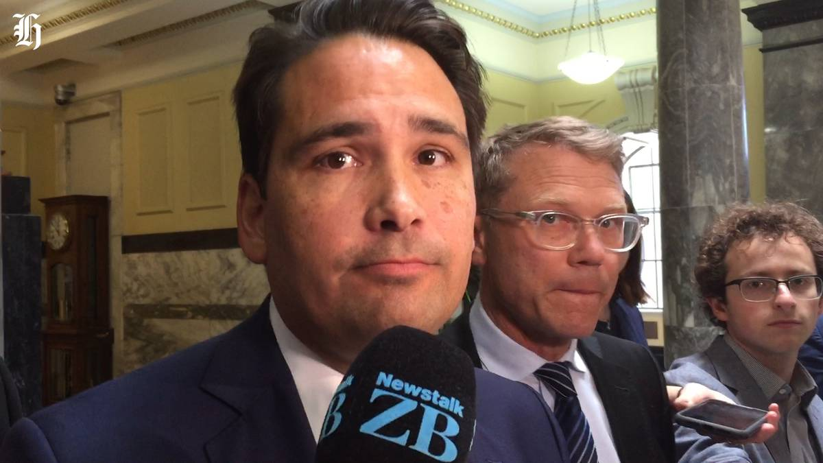 National leader Simon Bridges is critical of the Government?s books, specifically next year?s deficit