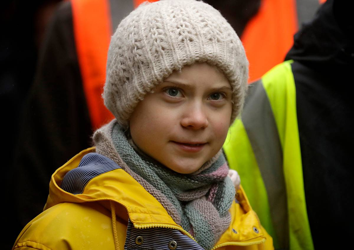 Greta Thunberg Reacts To Canadian Oil Company S Logo On Explicit