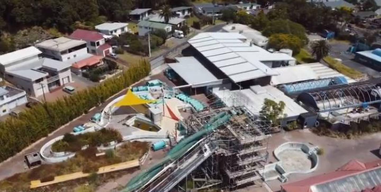 What Waiwera Thermal Resort looks like now. Photo / Supplied
