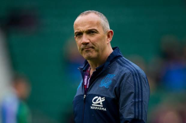 Italy coach Conor O'Shea. Photo / Photosport