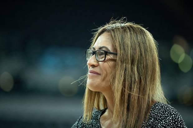 Silver Ferns coach Dame Noeline Taurua. Photo / Photosport