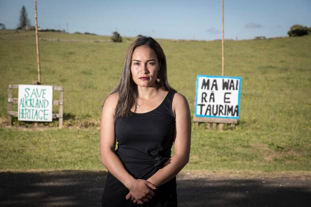 Ihumatao occupation leader Pania Newton says no one from her group will be at TÅ«rangawaewae when the Prime Minister attends. Photo / Michael Craig