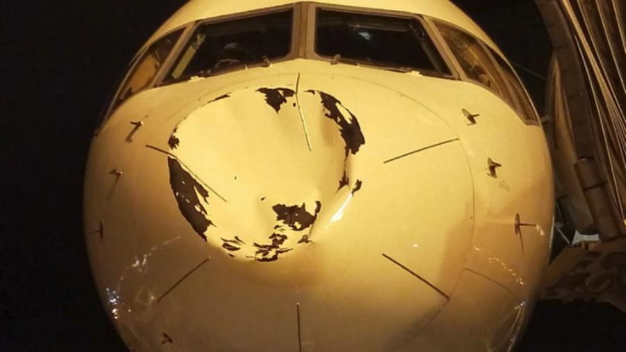 Delta: Flight Carrying Oklahoma Thunder Encountered Bird