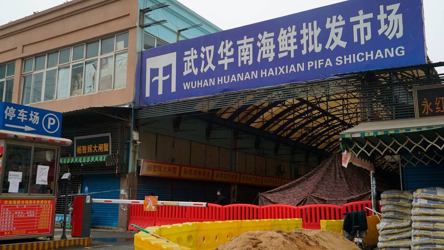 The Wuhan Huanan Wholesale Seafood Market has largely been accepted as ground zero for the Covid 19 pandemic. Photo / AP