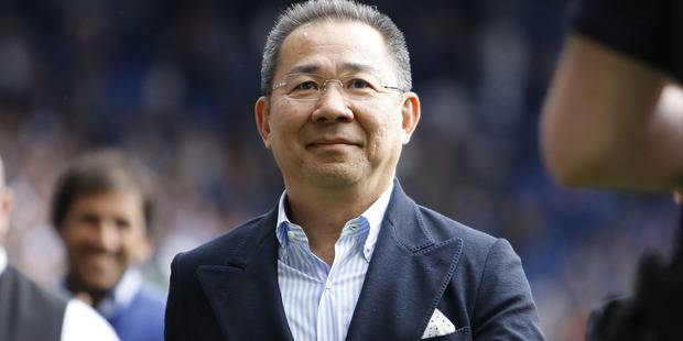 Leicester City owner Vichai Srivaddhanaprabha. Photo / Richard Holmes/ProSports/REX/Shu