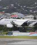 Air New Zealand yesterday refuelled one of its planes at Wellington Airport because of the fuel shortage.