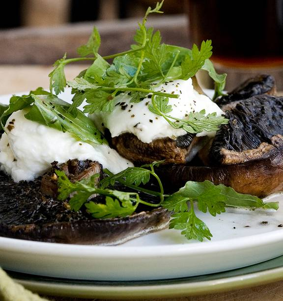 Field Mushrooms With Buffalo Mozzarella Nz Herald