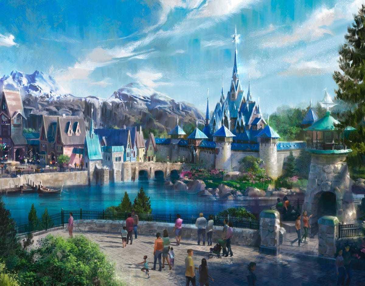 Frozen Land plans unveiled, Disneyland Paris to double in size