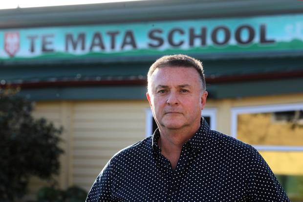 Te Mata School principal Michael Bain says it will be harder to fill principals' jobs in small rural schools now that teachers can get paid more in lesser roles in bigger schools. Photo / File