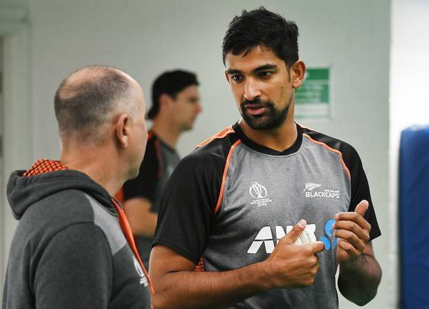 Black Caps coach Gary Stead (left) regrets not having picked spinner Ish Sodhi (right). Photo / Photosport