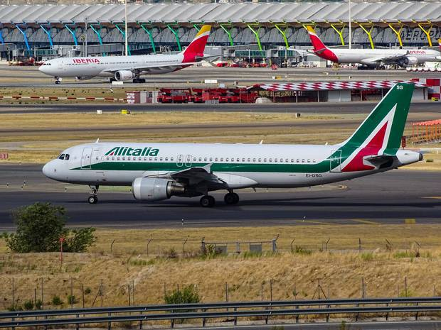 Alitalia airlines has declared bancruptcy twice in the past 11 years. Photo / Miguel Angel Sanz