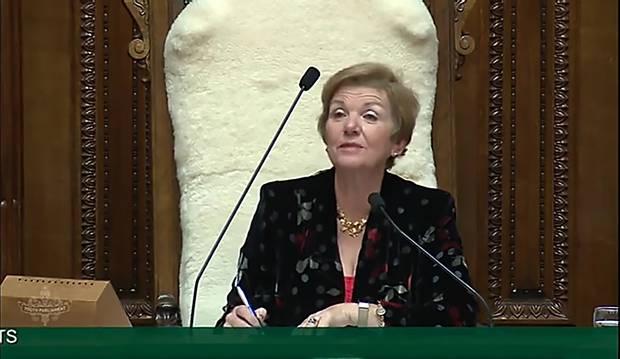 Anne Tolley was appointed Deputy Speaker in 2017.