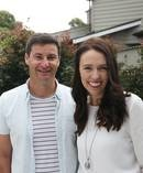 NZ's First Man Clarke Gayford received some adorable fan-mail detailing concerns that he was lonely since Prime Minister Jacinda Ardern must have a big workload. Photo / Doug Sherring.