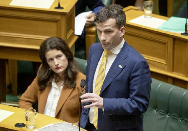 David Seymour sought the leave of the House to make a personal explanation immediately after Peters' speech, but leave wasn't granted. Photo / File