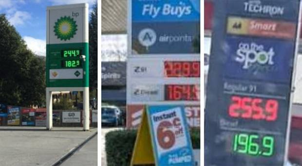 Disgruntled Kiwis are set to take a stand against the petrol industry and the government over petrol prices, with plans to boycott all petrol stations around the country today. Photo / Facebook