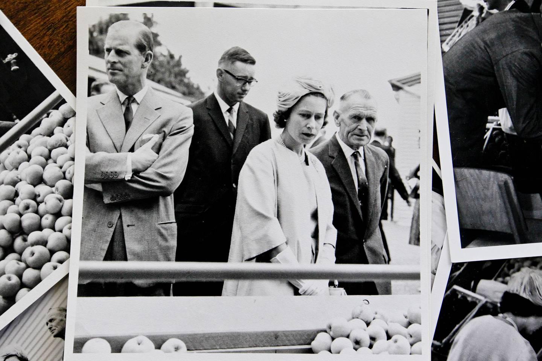 Photographs taken when Queen Elizabeth II and Duke of Edinburgh visited Hawke's Bay during their 1963 New Zealand tour.  Photo / Warren Buckland