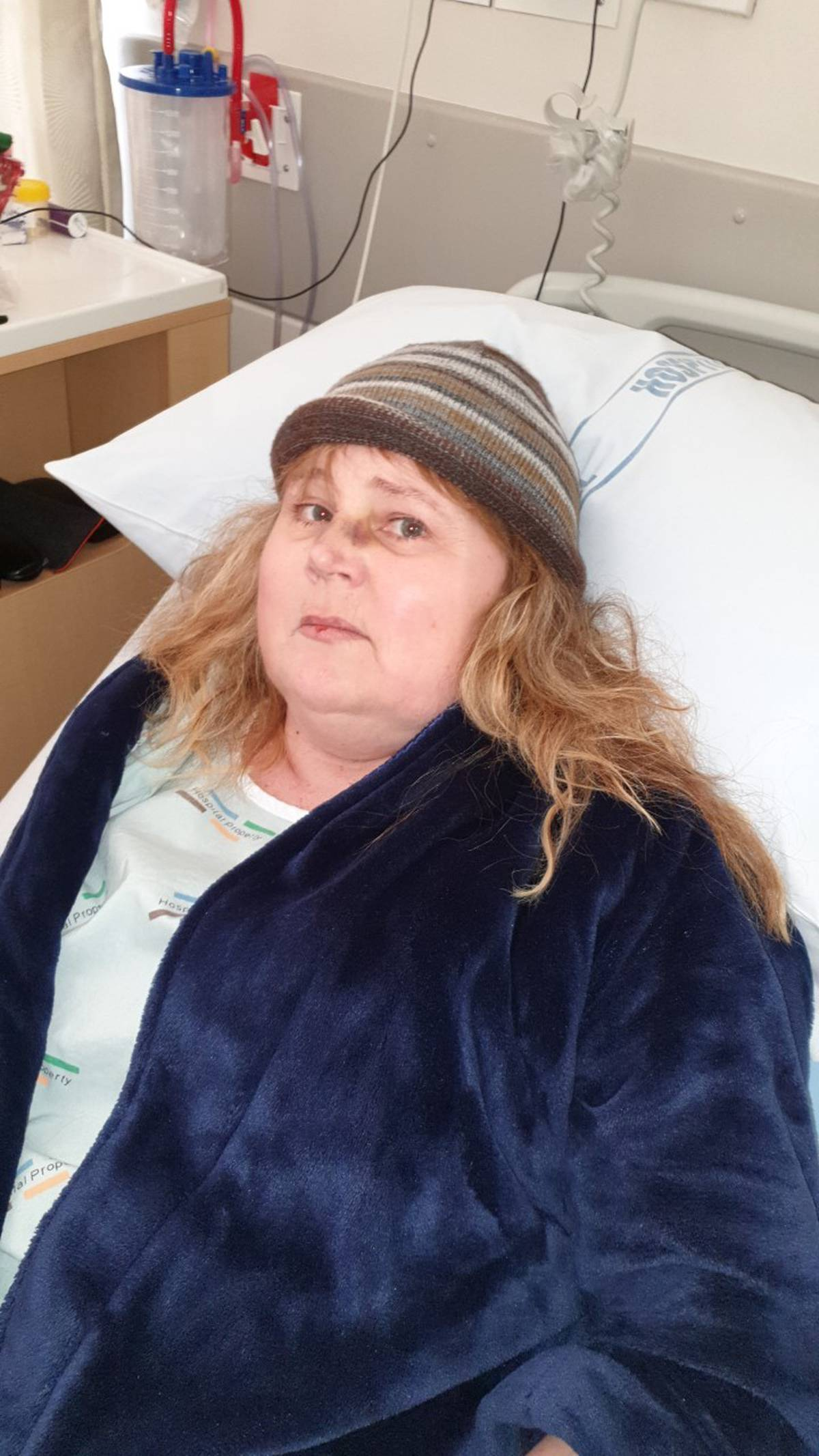 Terminal cancer patient moved from private hospital room to make way for prison inmate