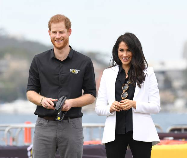 Prince Harry stepped out of the supporting actor role when he launched the Invictus Games and with his marriage to Meghan. Photo / Getty Images