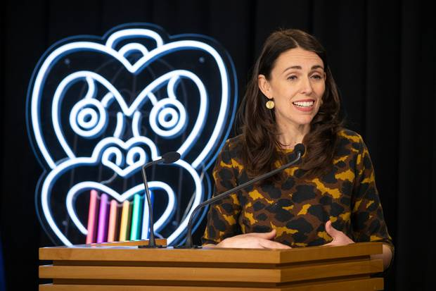 Prime Minister Jacinda Ardern said most New Zealanders would be surprised to hear local history wasn't being taught at schools. Photo / Mark Mitchell