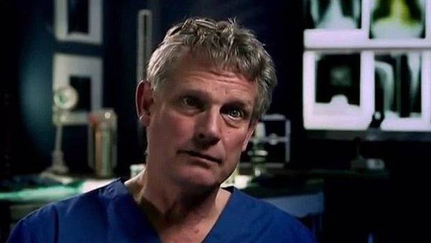 Richard Shepherd is a top UK pathologist asked to review Diana's autopsy.