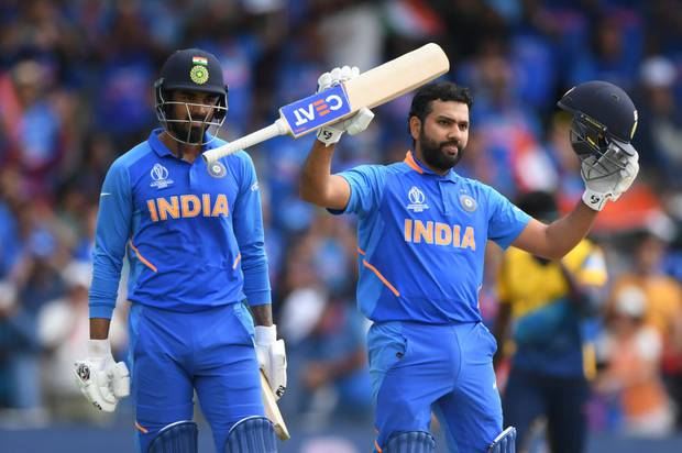 Rohit Sharma has hit five centuries at the World Cup. Photo / Getty