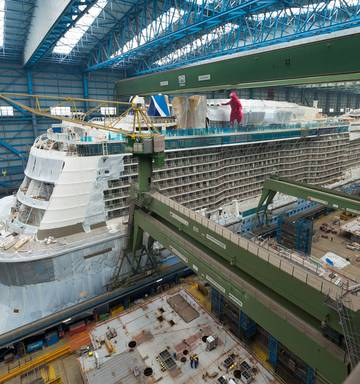 22bcea2bde4 Making Megaships - how the biggest cruise ships are built - NZ Herald