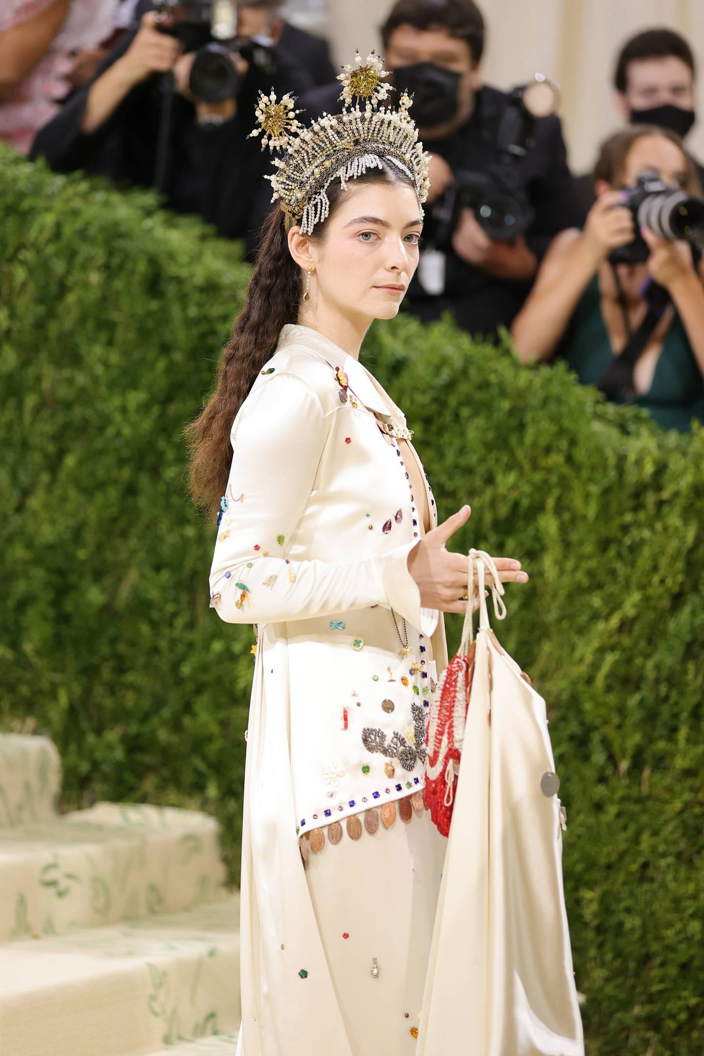 """Lorde staying true to this Met Gala theme """"In America: A Lexicon of Fashion"""". Photo / Getty"""