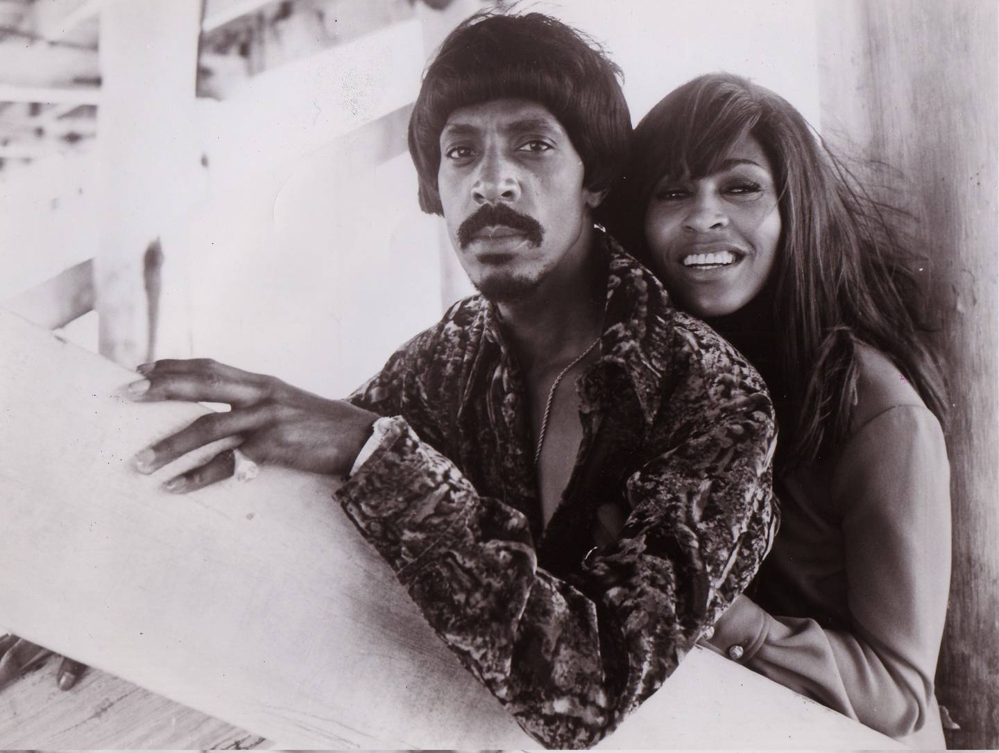 Ike and Tina Turner pictured together here in 1970, were married from 1962 to 1978, when they dicorced. Photo / Getty Images